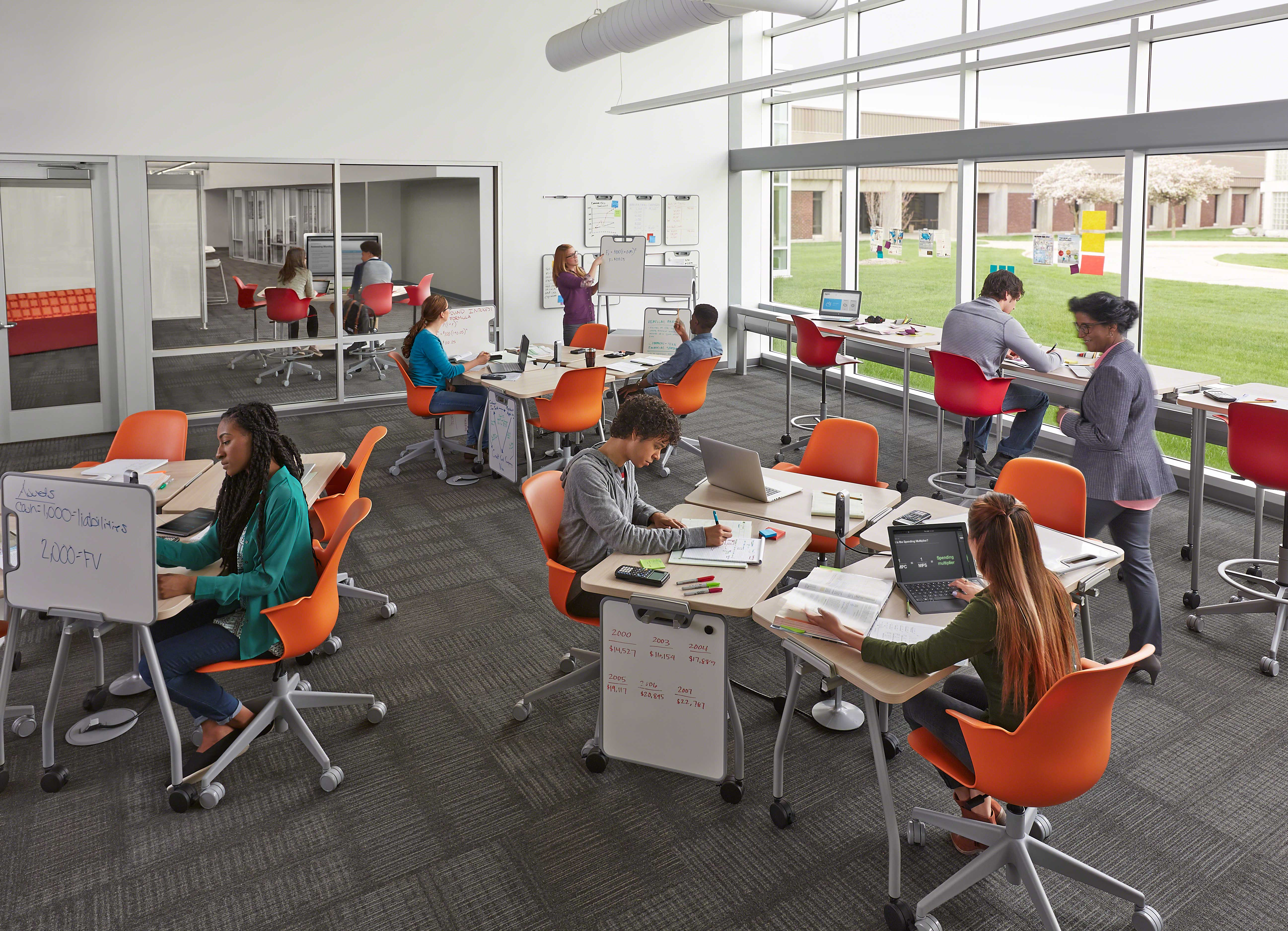 Verb Classroom Furniture, Steelcase.