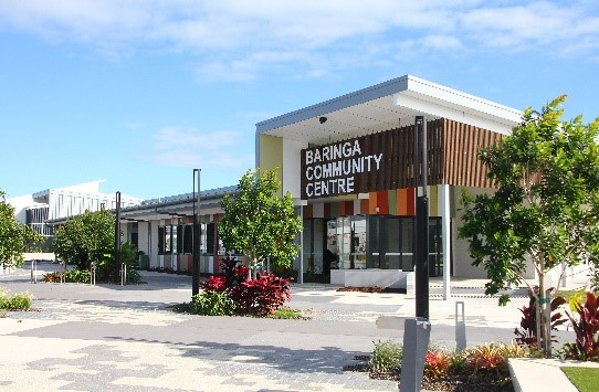 Baringa Community Hub, Aura, Caloundra South. Photo by QLD Community Hubs and Partnerships (CHaPs)