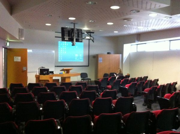 Image of the traditional lecture theatre in the old Royal Children's Hospital, August 2011