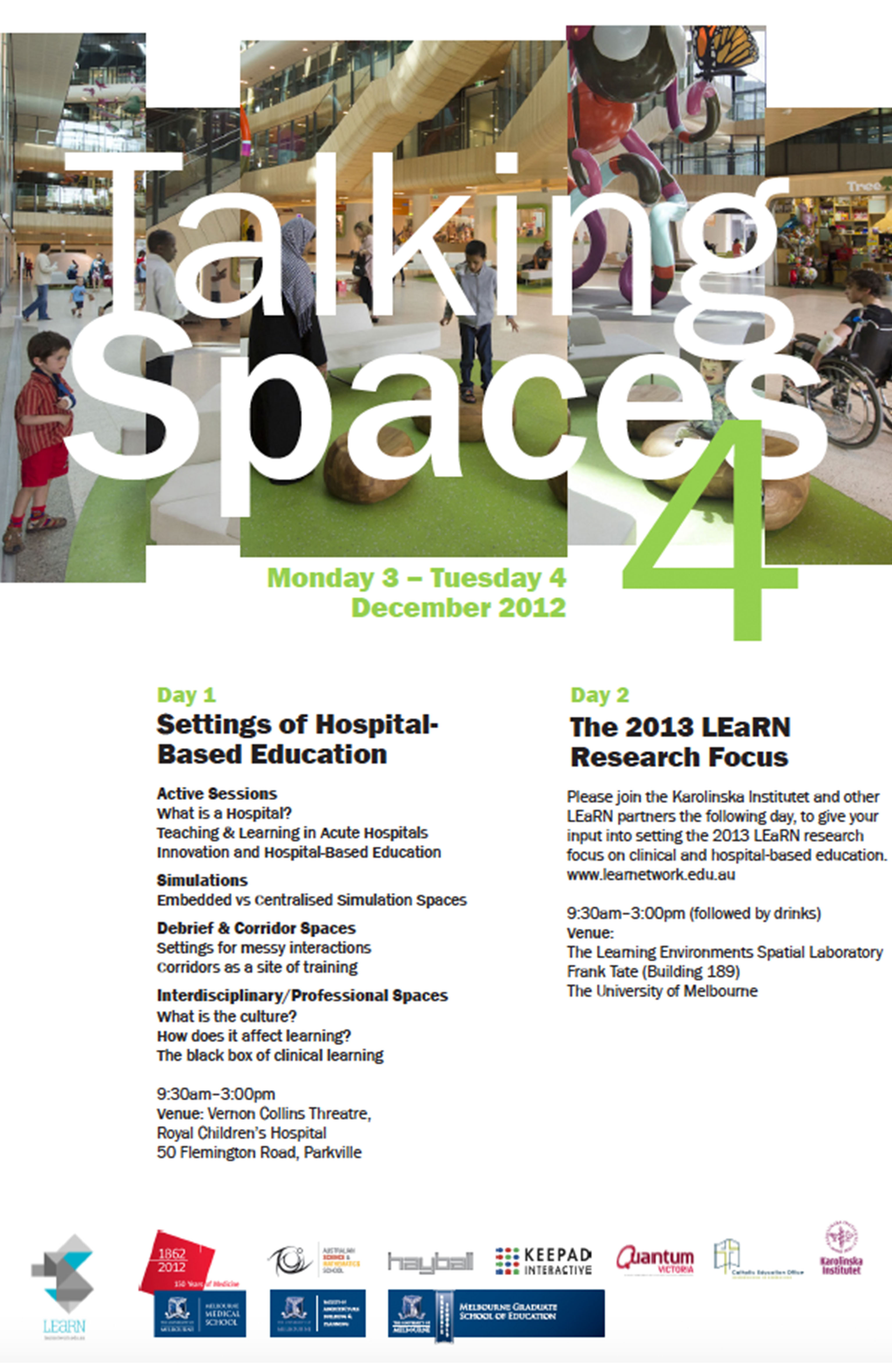 Talking Spaces 4 Program