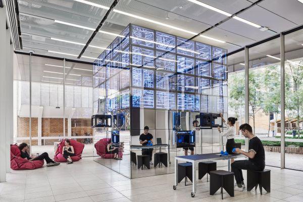 NEXT Lab, Melbourne School of Design. Photo courtesy of The University of Melbourne.