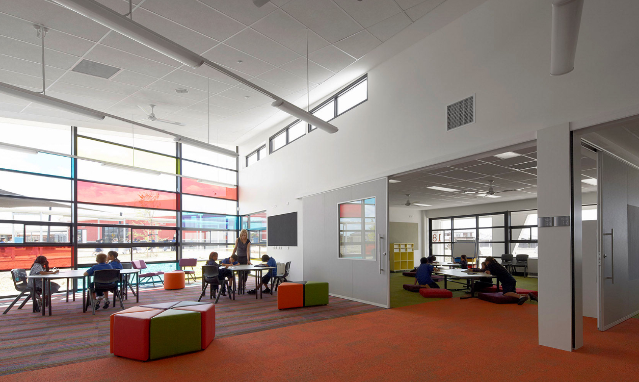 Derrimut Primary School PPP by Hayball and Gray Puksand. Photo by Peter Clarke.