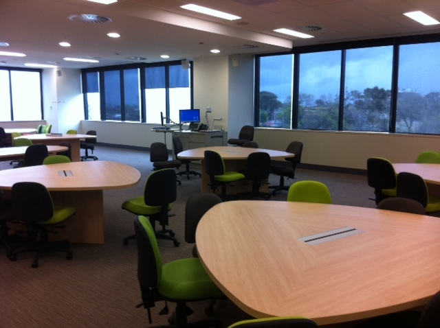 Image of the new generation learning space in the new Royal Children's Hospital, August 2012